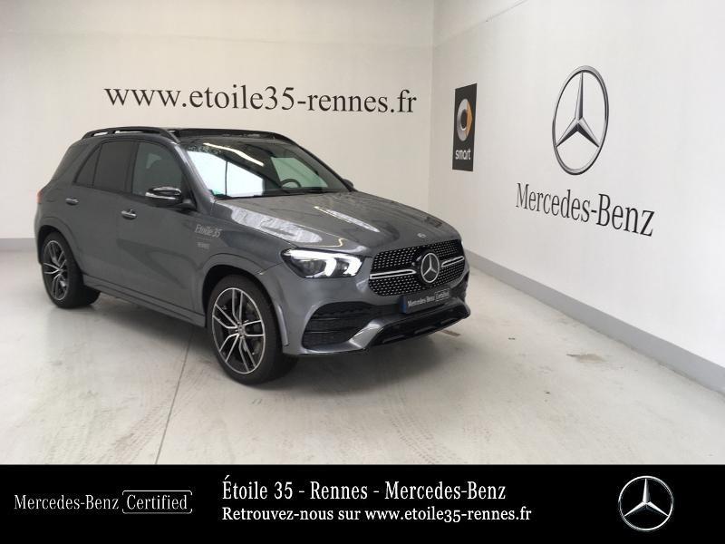 Mercedes-Benz GLE 300 d 245ch AMG Line 4Matic 9G-Tronic Diesel Gris Sélénite Occasion à vendre