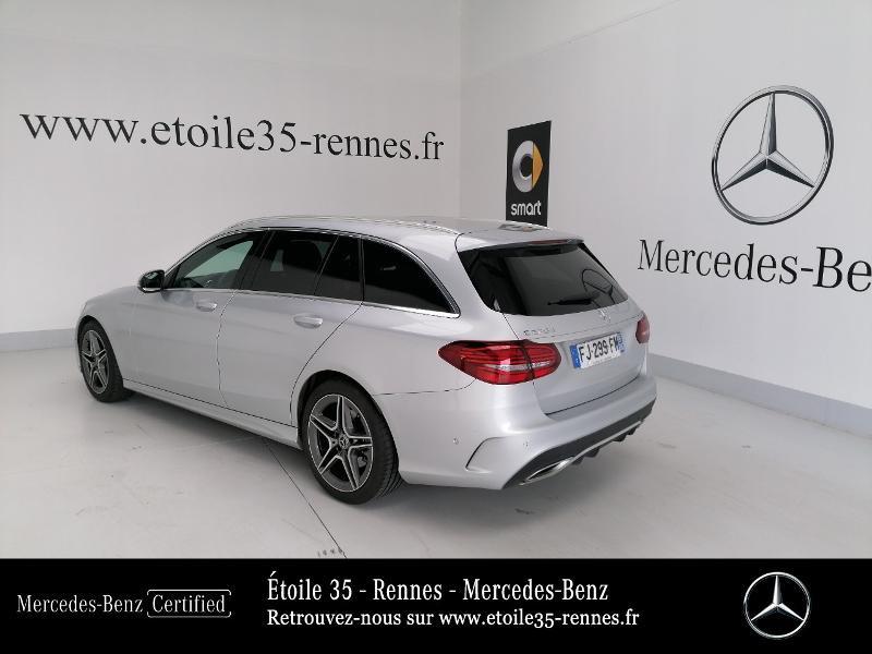 Photo 3 de l'offre de MERCEDES-BENZ Classe C Break 220 d 194ch AMG Line 9G-Tronic à 38490€ chez Etoile 35 - Mercedes-Benz Rennes
