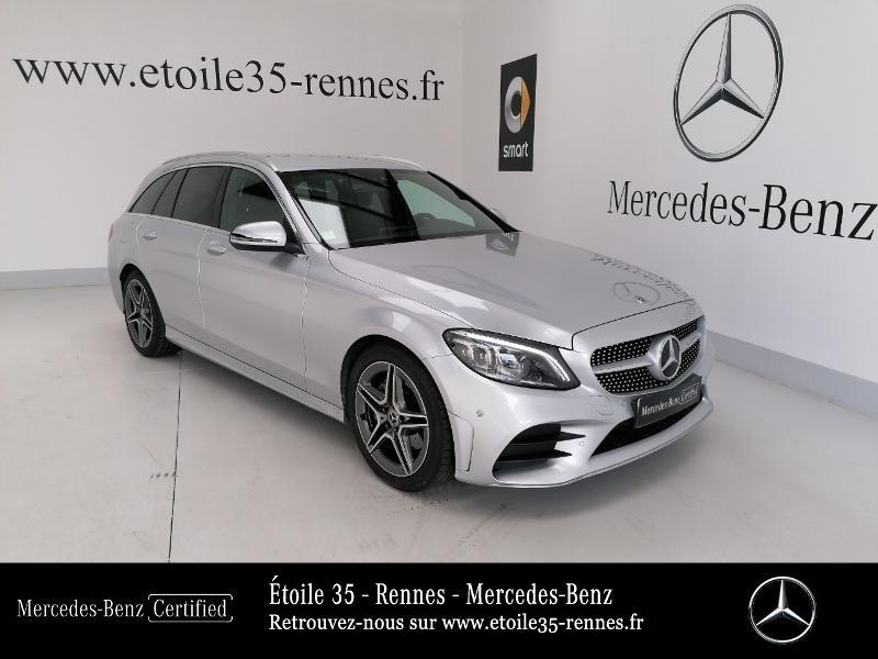Photo 1 de l'offre de MERCEDES-BENZ Classe C Break 220 d 194ch AMG Line 9G-Tronic à 38490€ chez Etoile 35 - Mercedes-Benz Rennes
