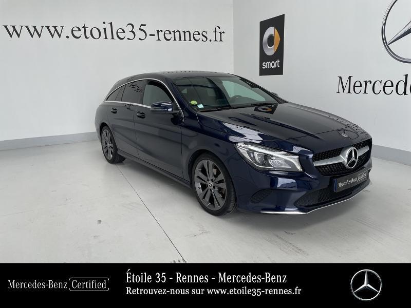 Mercedes-Benz CLA Shooting Brake 200 d Sensation 7G-DCT Diesel Bleu Cavansite Occasion à vendre