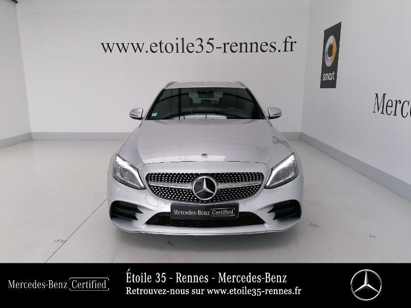 Photo 5 de l'offre de MERCEDES-BENZ Classe C Break 220 d 194ch AMG Line 9G-Tronic à 38490€ chez Etoile 35 - Mercedes-Benz Rennes