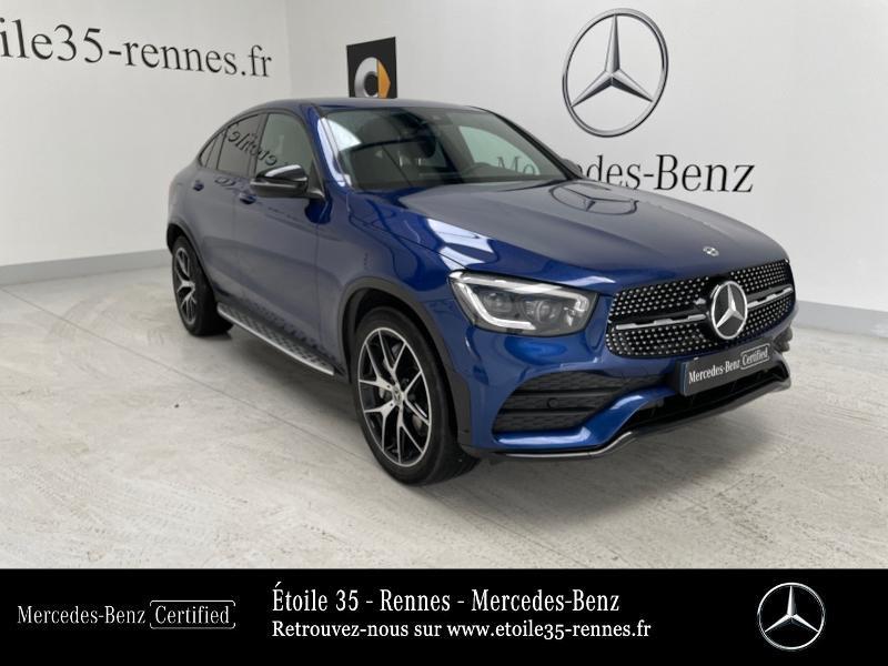 Mercedes-Benz GLC Coupe 220 d 194ch AMG Line 4Matic 9G-Tronic Diesel Bleu brillant métallisé Occasion à vendre