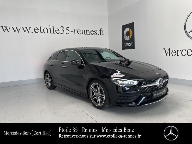 Mercedes-Benz CLA Shooting Brake 200 163ch AMG Line 7G-DCT 9cv Essence Noir Cosmos Occasion à vendre