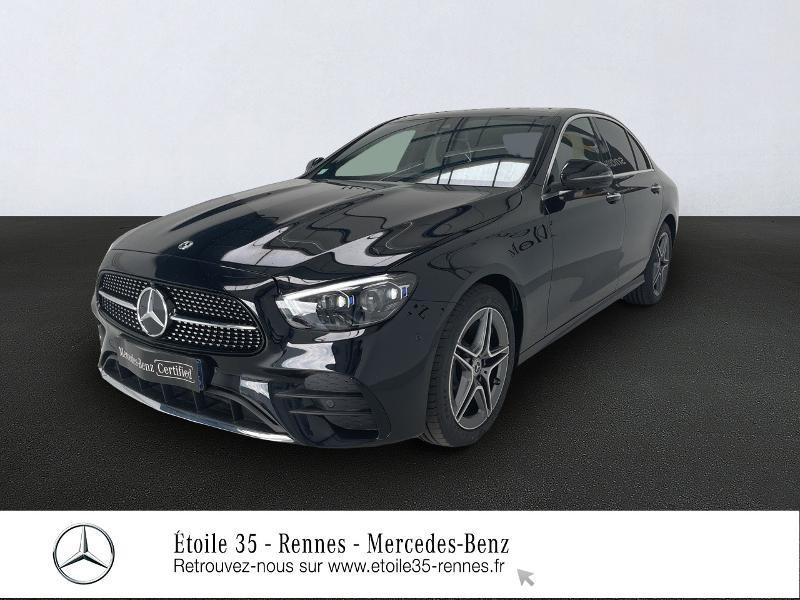 Mercedes-Benz Classe E 220 d 194ch AMG Line 9G-Tronic Diesel Noir Obsidienne Occasion à vendre