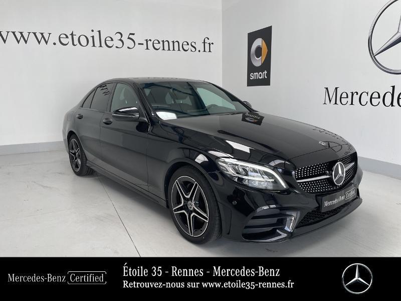 Mercedes-Benz Classe C 200 d 160ch AMG Line 9G-Tronic Diesel Noir Obsidienne Occasion à vendre