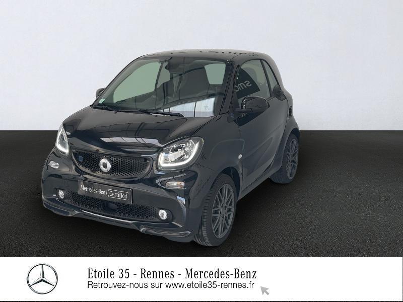 Smart Fortwo Coupe Electrique 82ch Brabus style Electrique Noir Occasion à vendre