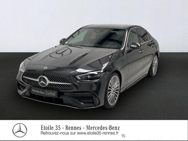 Mercedes-Benz Classe C 200 Berline AMG line Hybride Gris Foncé Occasion à vendre