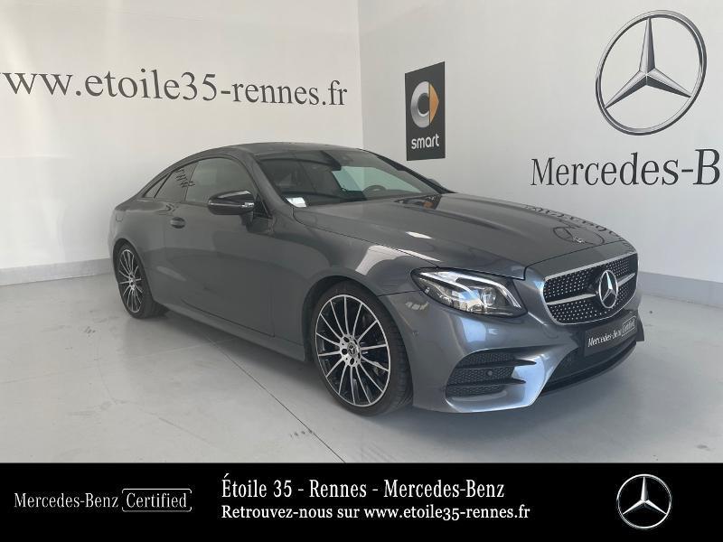 Mercedes-Benz Classe E Coupe 220 d 194ch Sportline 9G-Tronic Diesel Gris Sélénite Occasion à vendre