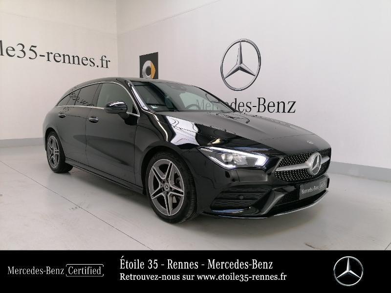 Mercedes-Benz CLA Shooting Brake 180 d 116ch AMG Line 7G-DCT Diesel Noir Cosmos Occasion à vendre