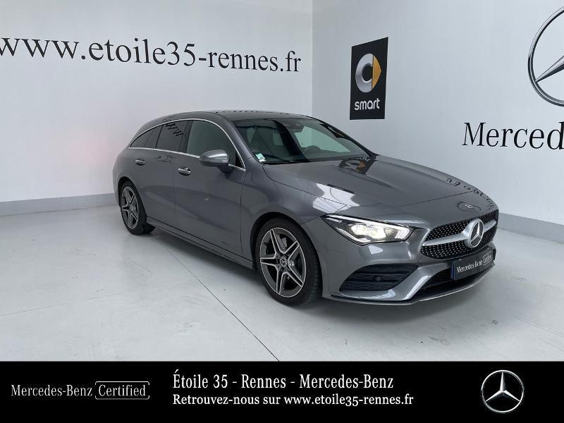 Mercedes-Benz CLA Shooting Brake 220 d 190ch AMG Line 8G-DCT Diesel Gris Montagne Occasion à vendre