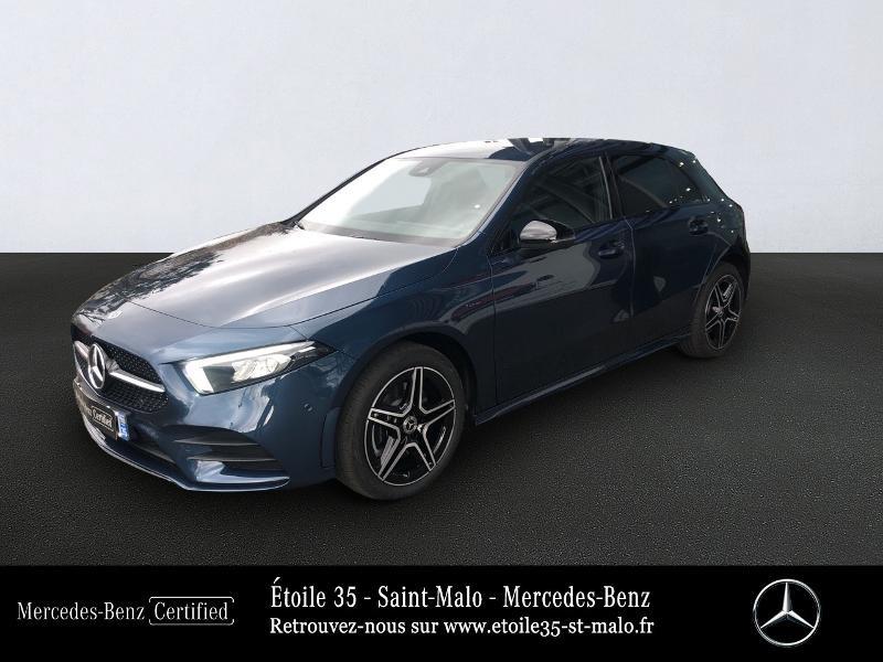 Mercedes-Benz Classe A 250 e 160+102ch AMG Line 8G-DCT Hybride Bleu Foncé Métal Occasion à vendre