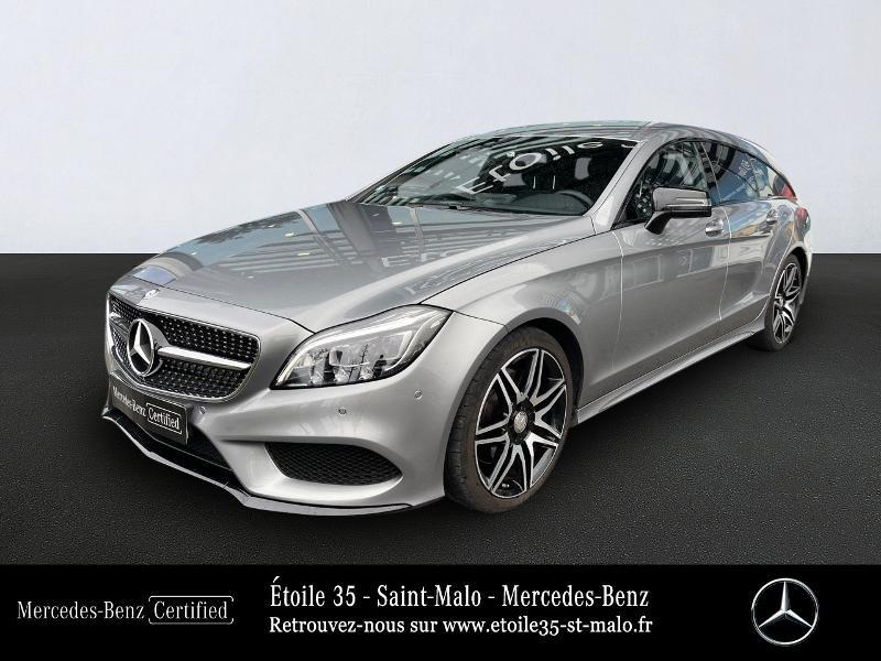 Mercedes-Benz CLS Shooting Brake 350 BlueTEC Sportline 9G-Tronic Diesel Gris Foncé Métal Occasion à vendre