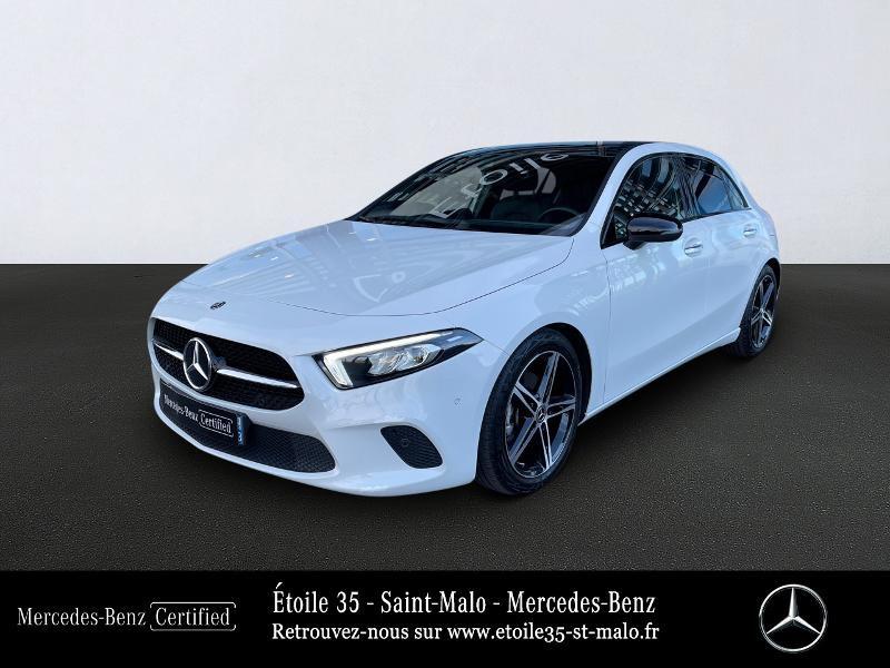 Mercedes-Benz Classe A 180 136ch Progressive Line 7G-DCT Essence Blanc Métal Occasion à vendre