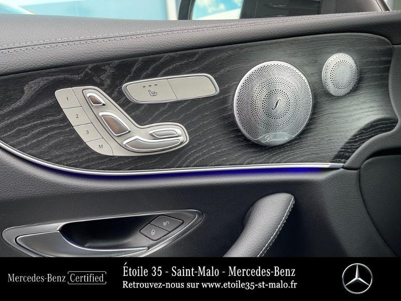 Photo 10 de l'offre de MERCEDES-BENZ Classe E Coupe 220 d 194ch AMG Line 9G-Tronic à 49890€ chez Etoile 35 - Mercedes-Benz St Malo