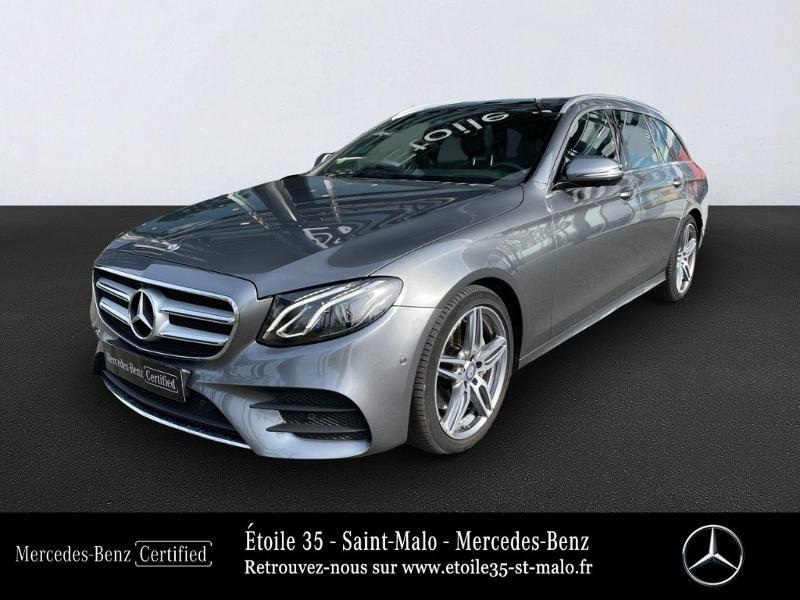 Mercedes-Benz Classe E Break 220 d 194ch Sportline 9G-Tronic Diesel Gris Sélénite Occasion à vendre