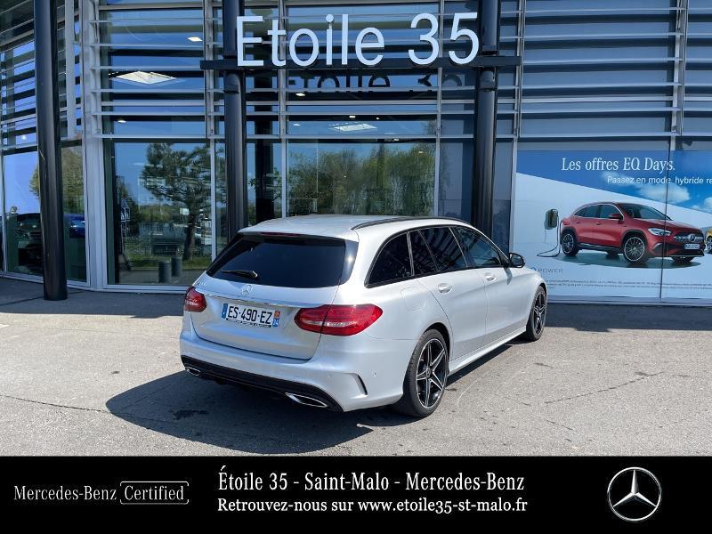 Photo 3 de l'offre de MERCEDES-BENZ Classe C Break 200 d 2.2 Sportline 7G-Tronic Plus à 29890€ chez Etoile 35 - Mercedes-Benz St Malo
