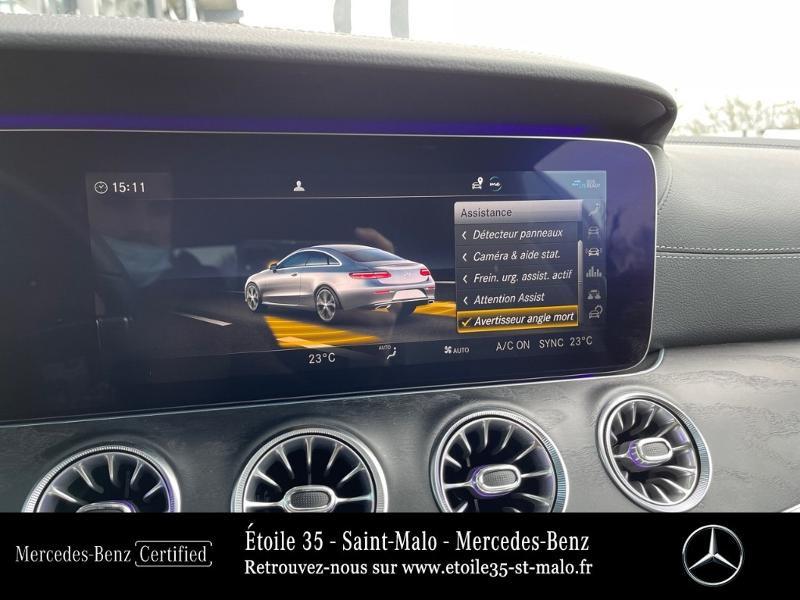 Photo 16 de l'offre de MERCEDES-BENZ Classe E Coupe 220 d 194ch AMG Line 9G-Tronic à 49890€ chez Etoile 35 - Mercedes-Benz St Malo