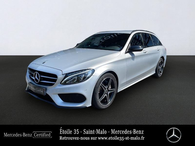 Photo 1 de l'offre de MERCEDES-BENZ Classe C Break 200 d 2.2 Sportline 7G-Tronic Plus à 29890€ chez Etoile 35 - Mercedes-Benz St Malo