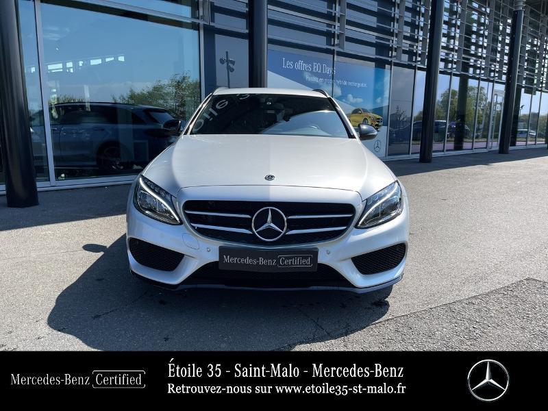 Photo 5 de l'offre de MERCEDES-BENZ Classe C Break 200 d 2.2 Sportline 7G-Tronic Plus à 29890€ chez Etoile 35 - Mercedes-Benz St Malo