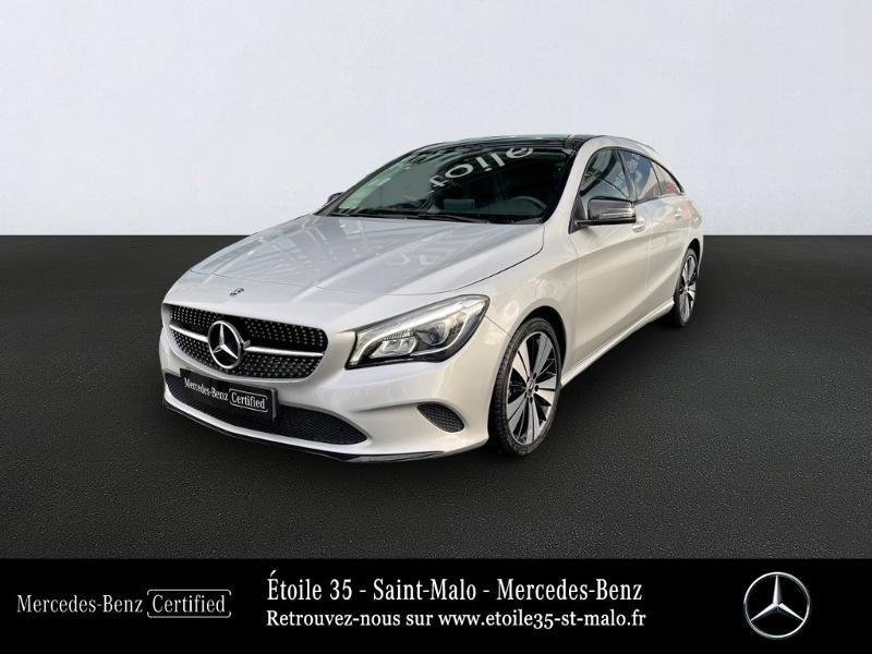 Photo 1 de l'offre de MERCEDES-BENZ CLA Shooting Brake 180 d Sensation 7G-DCT à 25490€ chez Etoile 35 - Mercedes-Benz St Malo
