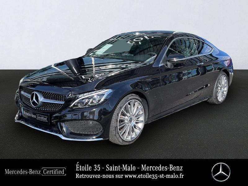 Mercedes-Benz Classe C Coupe 220 d 170ch Sportline 9G-Tronic Diesel Noir Obsidienne Occasion à vendre