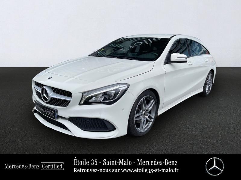 Mercedes-Benz CLA Shooting Brake 180 d Business Executive Edition 7G-DCT Diesel Blanc Cirrus Occasion à vendre