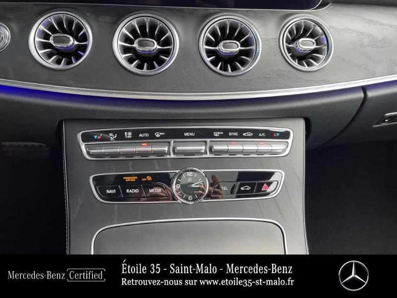 Photo 19 de l'offre de MERCEDES-BENZ Classe E Coupe 220 d 194ch AMG Line 9G-Tronic à 49890€ chez Etoile 35 - Mercedes-Benz St Malo
