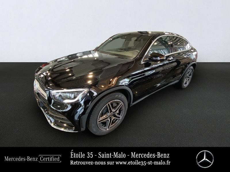 Mercedes-Benz GLC Coupe 220 d 194ch AMG Line 4Matic Launch Edition 9G-Tronic Diesel Noir Occasion à vendre
