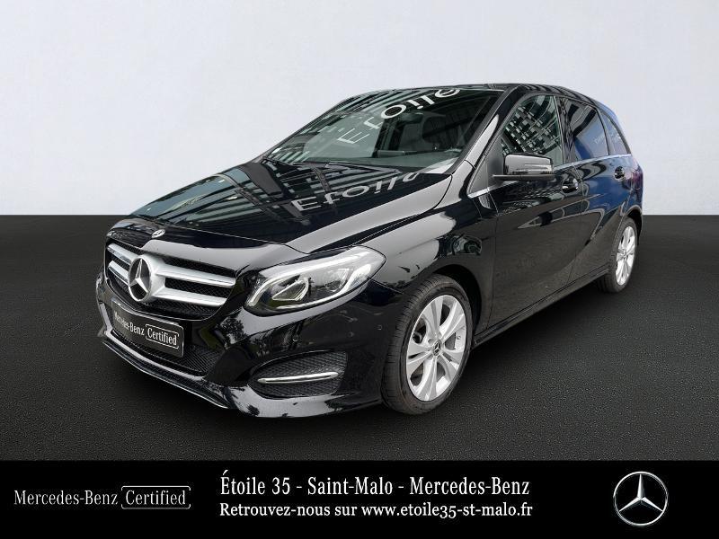 Mercedes-Benz Classe B 200d 136ch Sensation 7G-DCT Diesel Noir Cosmos Occasion à vendre