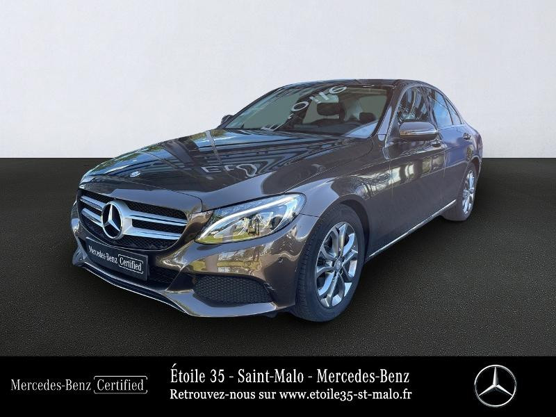 Mercedes-Benz Classe C 180 d Executive 7G-Tronic Plus Diesel BRUN CITRINE Occasion à vendre