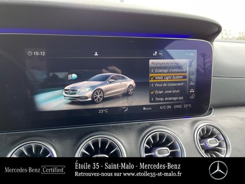 Photo 18 de l'offre de MERCEDES-BENZ Classe E Coupe 220 d 194ch AMG Line 9G-Tronic à 49890€ chez Etoile 35 - Mercedes-Benz St Malo