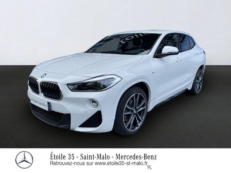 Bmw X2 sDrive18iA 140ch M Sport DKG7 Euro6d-T Essence BLANCHE Occasion à vendre
