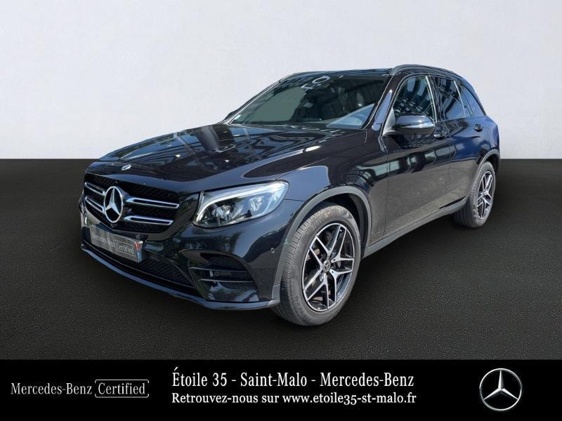 Mercedes-Benz GLC 250 d 204ch Sportline 4Matic 9G-Tronic Euro6c Diesel Noir Obsidienne Occasion à vendre