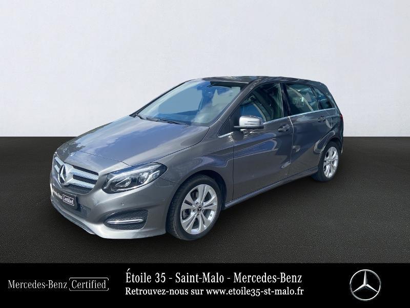 Mercedes-Benz Classe B 200d 136ch Sensation 7G-DCT Euro6c Diesel Gris Montagne Occasion à vendre