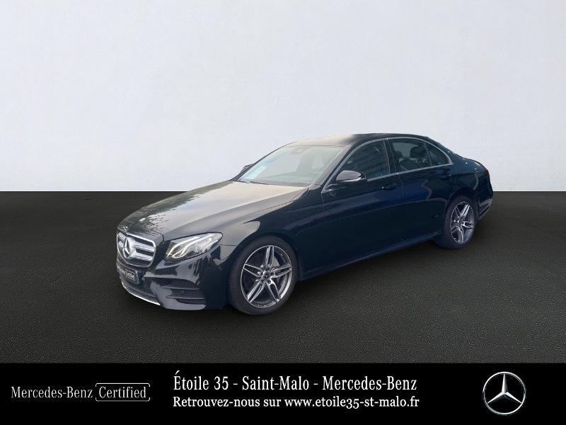 Mercedes-Benz Classe E 220 d 194ch Sportline 9G-Tronic Euro6d-T Diesel Noir Obsidienne Occasion à vendre