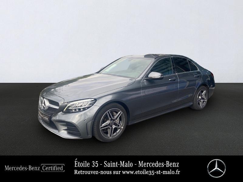 Mercedes-Benz Classe C 200 d 160ch AMG Line 9G-Tronic Diesel SELENITE Occasion à vendre