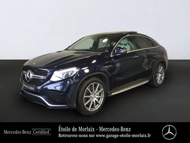 Mercedes-Benz GLE Coupe 63 AMG 557ch 4Matic 7G-Tronic Speedshift Plus Essence Bleu Cavansite Occasion à vendre