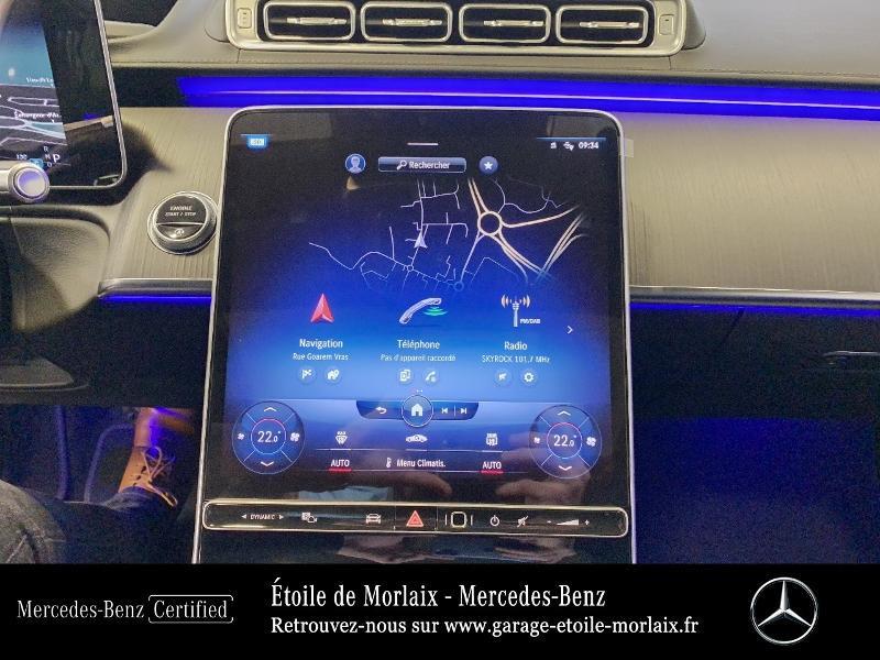 Photo 23 de l'offre de MERCEDES-BENZ Classe S 400 d 330ch AMG Line 4Matic 9G-Tronic à 126990€ chez Etoile de Morlaix - Mercedes-Benz Morlaix