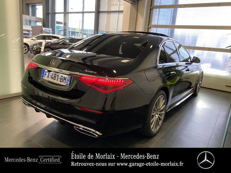 Photo 3 de l'offre de MERCEDES-BENZ Classe S 400 d 330ch AMG Line 4Matic 9G-Tronic à 126990€ chez Etoile de Morlaix - Mercedes-Benz Morlaix