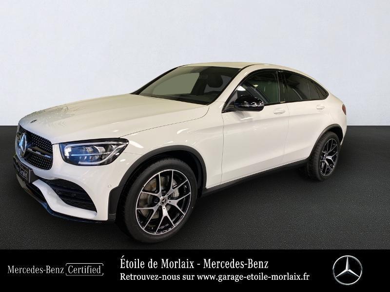 Mercedes-Benz GLC Coupe 220 d 194ch AMG Line 4Matic 9G-Tronic Diesel Blanc Polaire Occasion à vendre