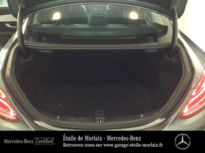 Photo 12 de l'offre de MERCEDES-BENZ Classe C 180 d Sportline 7G-Tronic Plus à 27490€ chez Etoile de Morlaix - Mercedes-Benz Morlaix