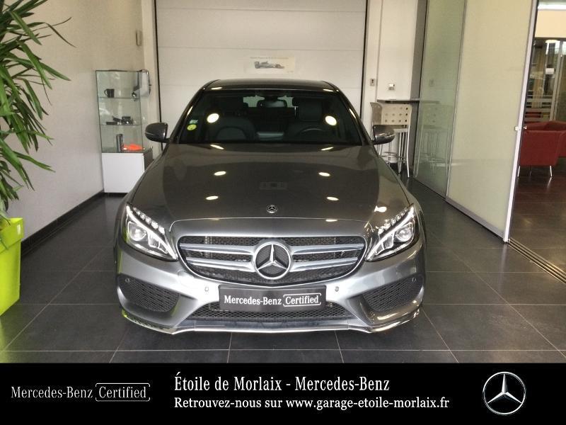 Photo 5 de l'offre de MERCEDES-BENZ Classe C 180 d Sportline 7G-Tronic Plus à 27490€ chez Etoile de Morlaix - Mercedes-Benz Morlaix
