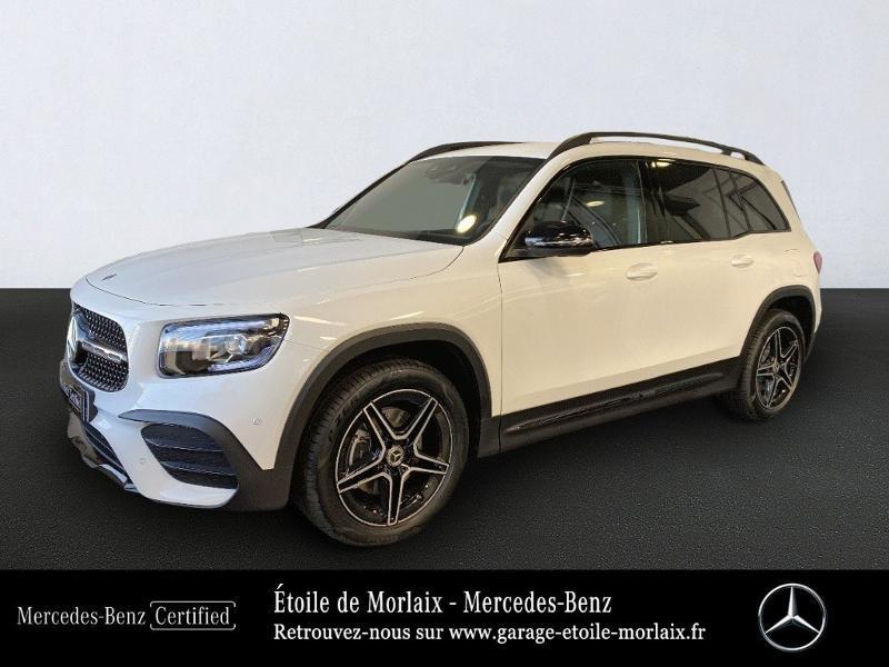 Mercedes-Benz GLB 200 163ch AMG Line 7G DCT Essence Blanc Polaire Occasion à vendre