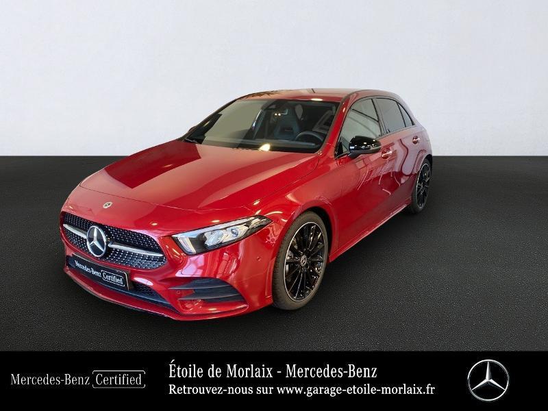 Mercedes-Benz Classe A 180 d 116ch AMG Line 7G-DCT Diesel Rouge Métal Occasion à vendre