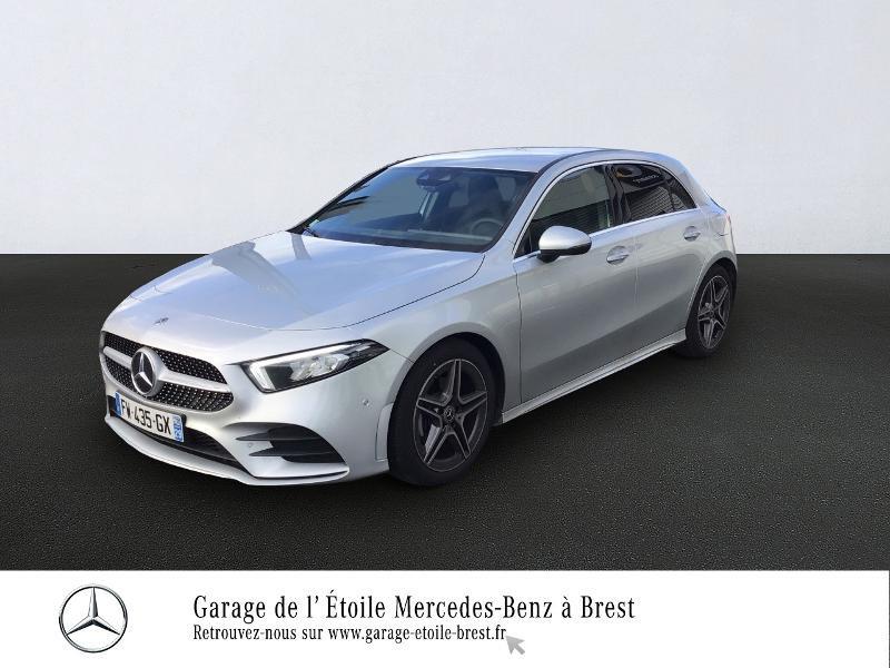 Mercedes-Benz Classe A 180 d 116ch AMG Line 7G-DCT Diesel Argent Iridium Occasion à vendre