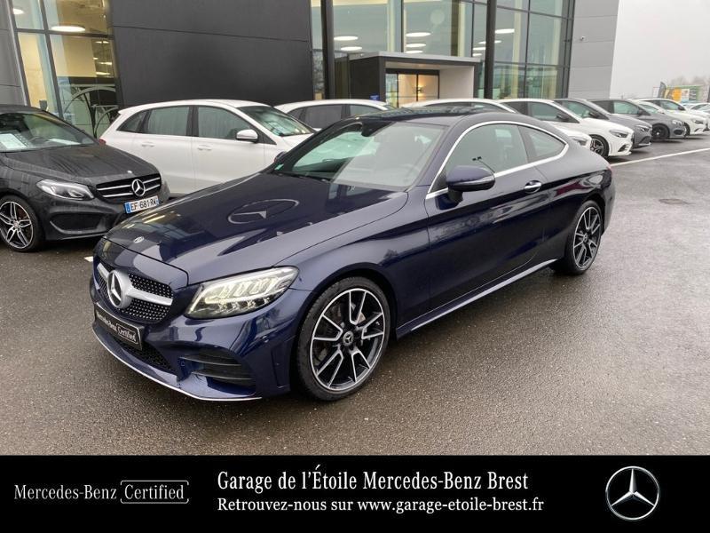 Photo 1 de l'offre de MERCEDES-BENZ Classe C Coupe 220 d 194ch AMG Line 9G-Tronic Euro6d-T à 43890€ chez Garage de l'Étoile - Mercedes-Benz Brest