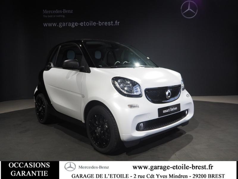 Smart Fortwo Coupe 71ch passion twinamic E6c Essence Blanc Occasion à vendre