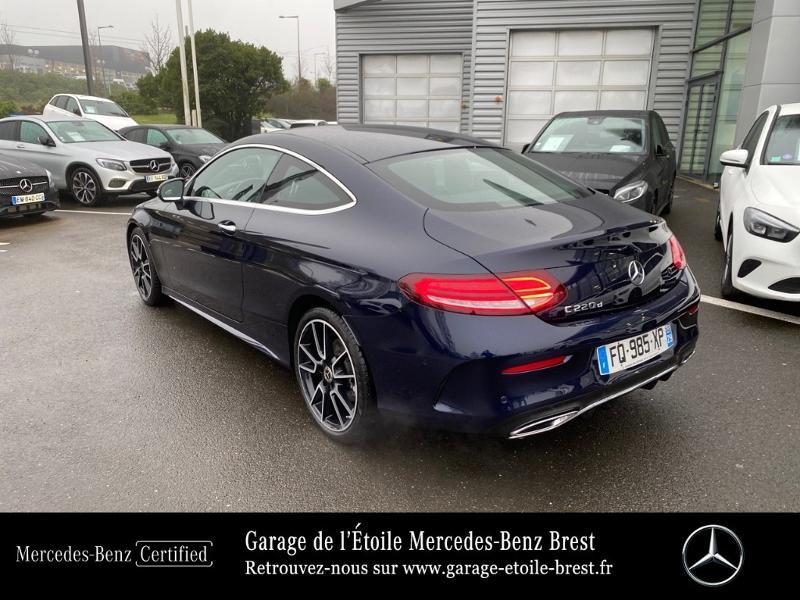 Photo 3 de l'offre de MERCEDES-BENZ Classe C Coupe 220 d 194ch AMG Line 9G-Tronic Euro6d-T à 43890€ chez Garage de l'Étoile - Mercedes-Benz Brest