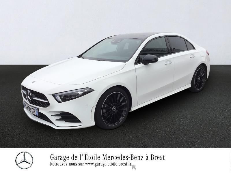 Mercedes-Benz Classe A 180 d Berline 116ch AMG Line 7G-DCT Diesel Blanc Polaire Occasion à vendre