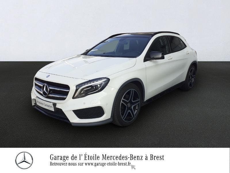 Mercedes-Benz Classe GLA 220 CDI Fascination 7G-DCT Diesel Blanc Cirrus Occasion à vendre
